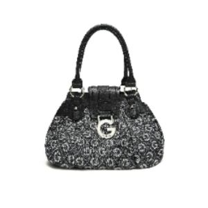 Black & Gray G by Guess Calliah Tote